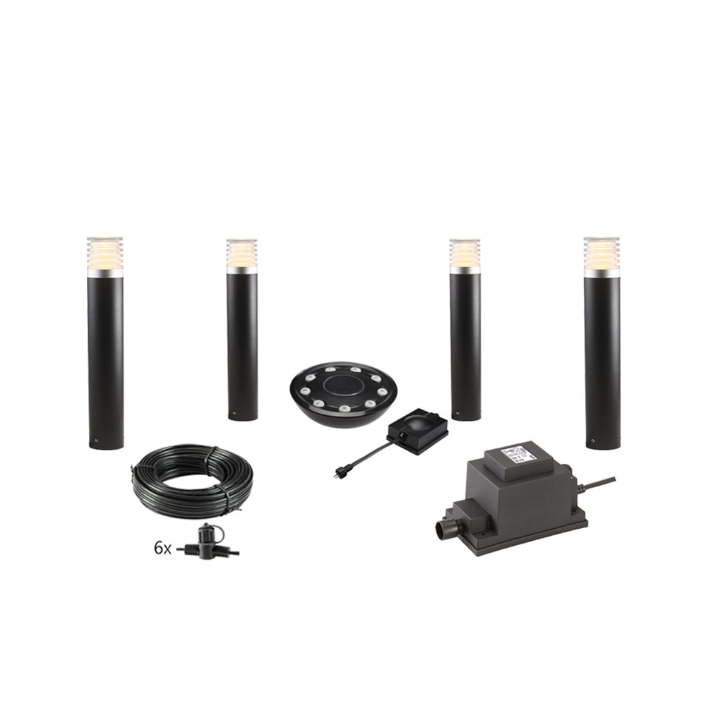 Arco 40 39 all inclusive starter set 39 4 post lights rc for 12v garden lights