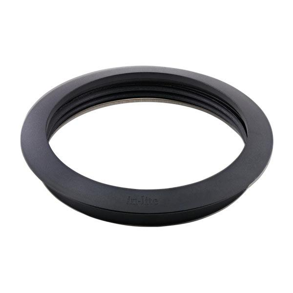 In-lite LUNA RING 68 Black - Low Voltage Outdoor Recessed Lights