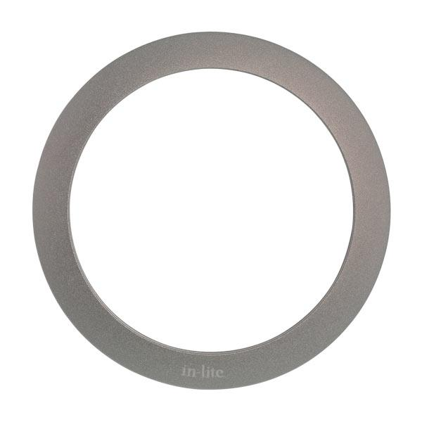 In-lite LUNA RING 68 Pearl Grey Low Voltage Outdoor Recessed Lights