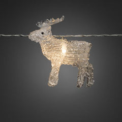 Konstsmide Mini Light Set 8 LED Mooses