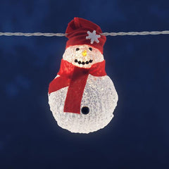 Konstsmide Mini Light Set LED Snowman