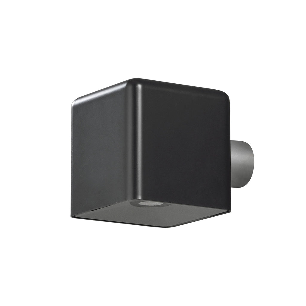 Low Voltage Wall Lights For The Garden : AMALFI BLACK Low Voltage Garden Light - 12v Outdoor Wall Light