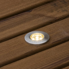 Konstsmide Mini LED Ground Spot 12v Outdoor Lighting
