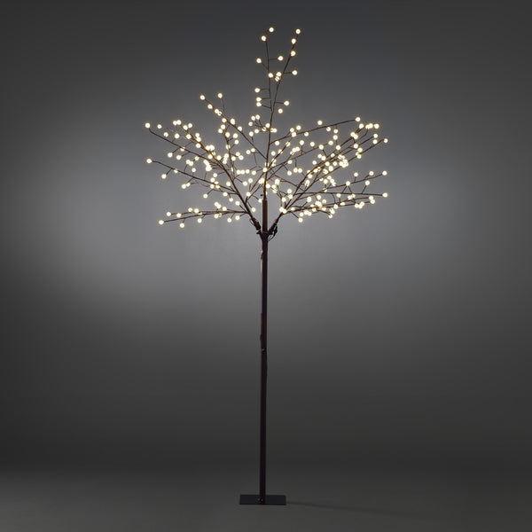 Konstsmide decorative brown tree with 240 LED