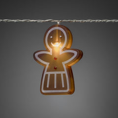 Konstsmide Mini Light Set 8 LED Gingerbread Girls