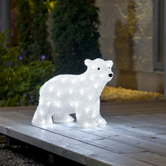Konstsmide POLAR BEAR With 64 White LEDs - Outdoor Decorative Lights
