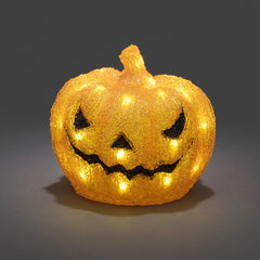 Konstsmide PUMPKIN With 32 White LEDs - Low Voltage Outdoor Decorative Lights