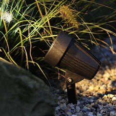 Techmar CORVUS 12v LED Spotlight in Gravel Border