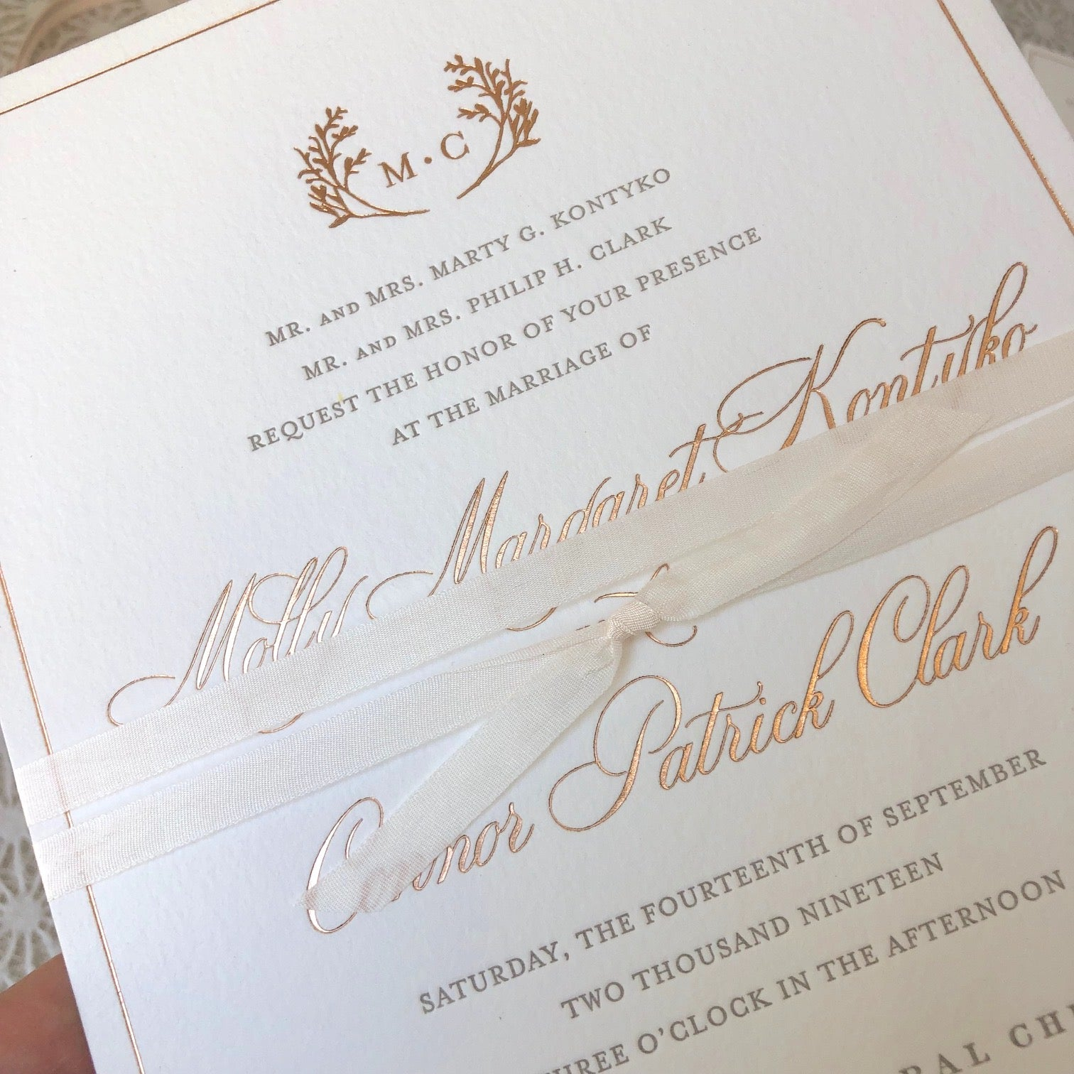 Wedding Invitations Decoded