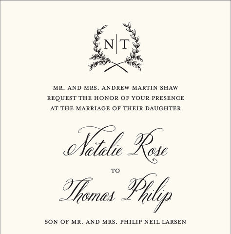 How To Read A Wedding Invitation Your Official On Paper Decoder