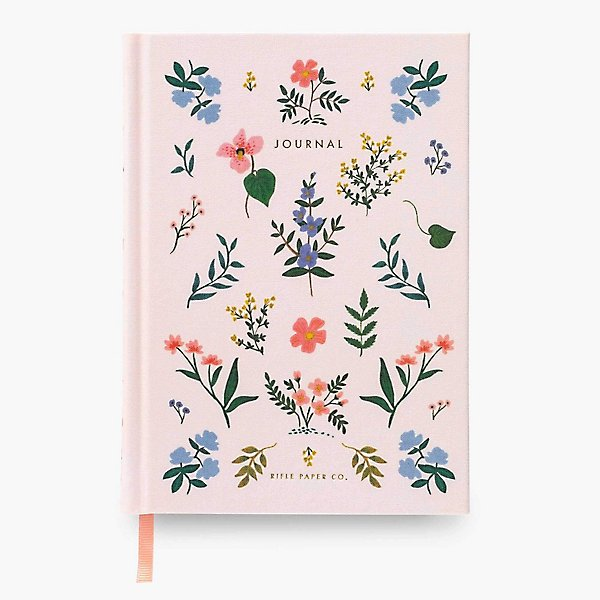 Printed Book Cloth Journal