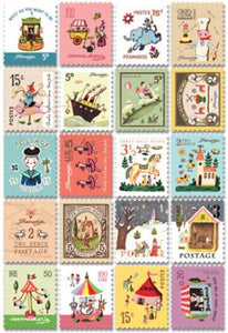 Mini Stamp Sticker Sheets