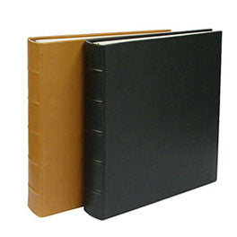 3 Ring Leather Binder