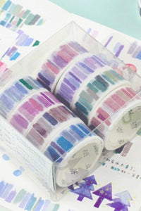 Watercolor Washi Tape Sets