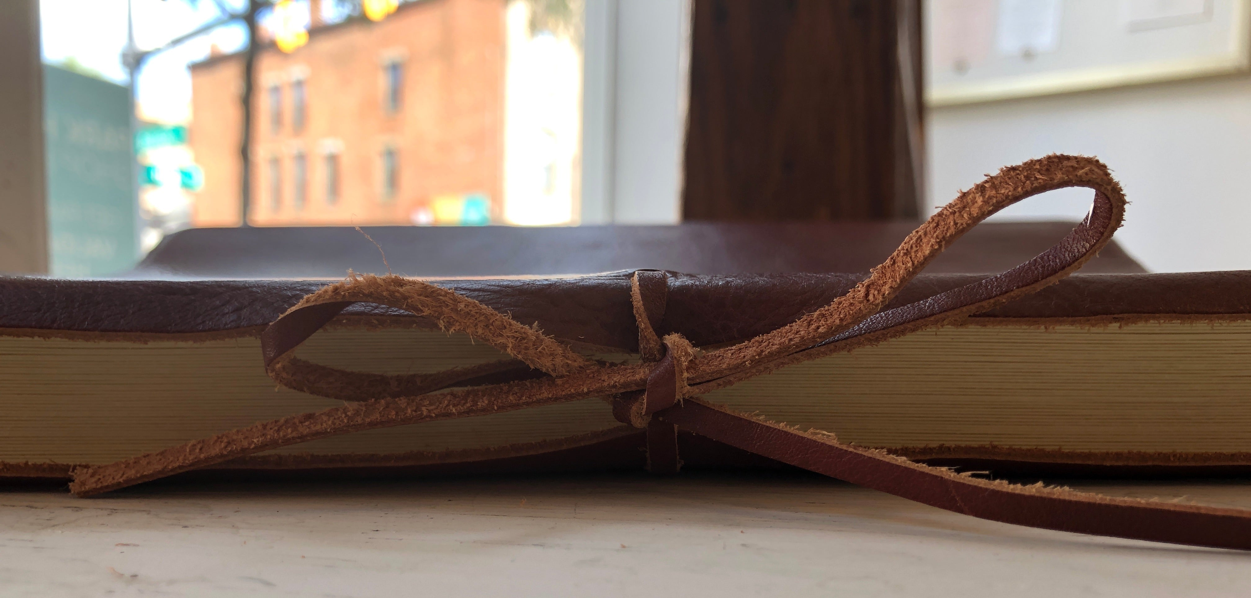 "Italian Leather Photo Album (10″ x 12 1/4"")"