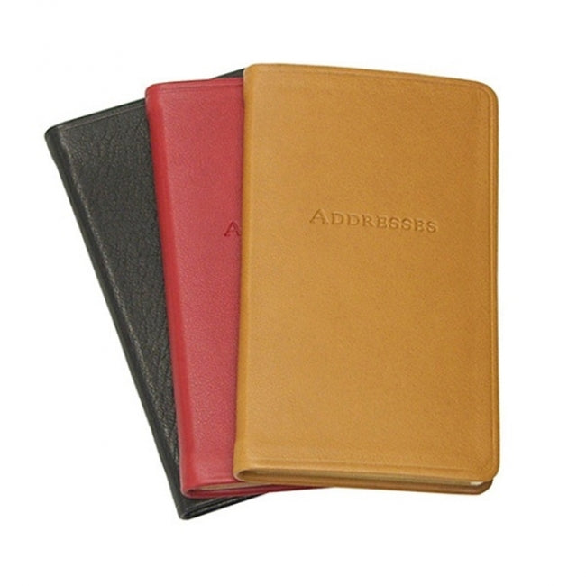 Leather Pocket Address Book