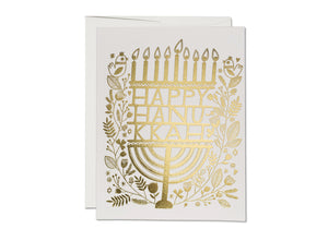 Hanukkah Candles Holiday Card, Set of 8