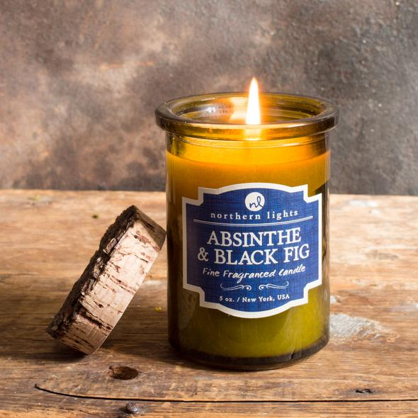 absinthe and black fig candle