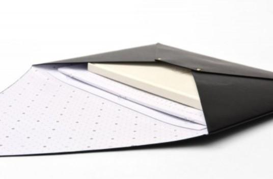 Vegan Leather Document Envelope