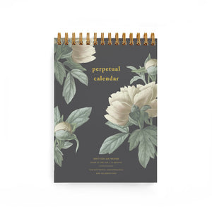 Smitten on Paper Classic Peony Perpetual Calendar