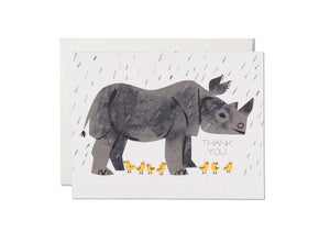 Rhino Thank You Card, Box of 8