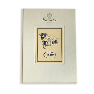 Pineider 'Capri' Boxed Card Set - 25