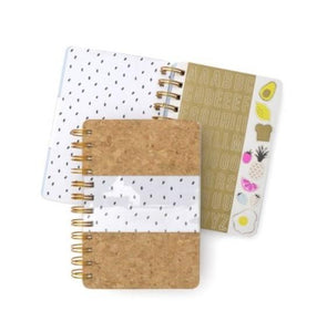 Cork & Clear Mini Notebook