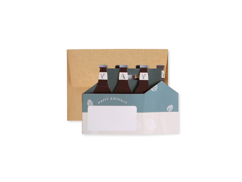 Beers to You Pop Up Card