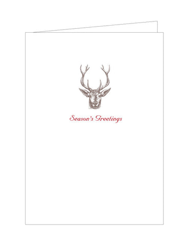Deer Holiday Note Cards