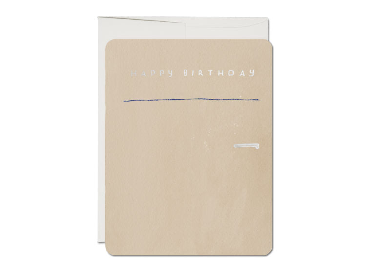 Refrigerator Birthday Card
