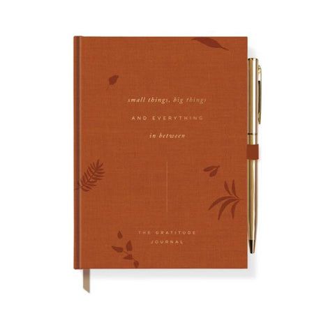Gratitude Everything Canvas Journal