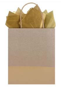 Dipped Recycled Kraft Gift Bag