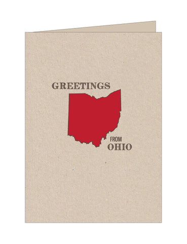 Ohio State Note Cards
