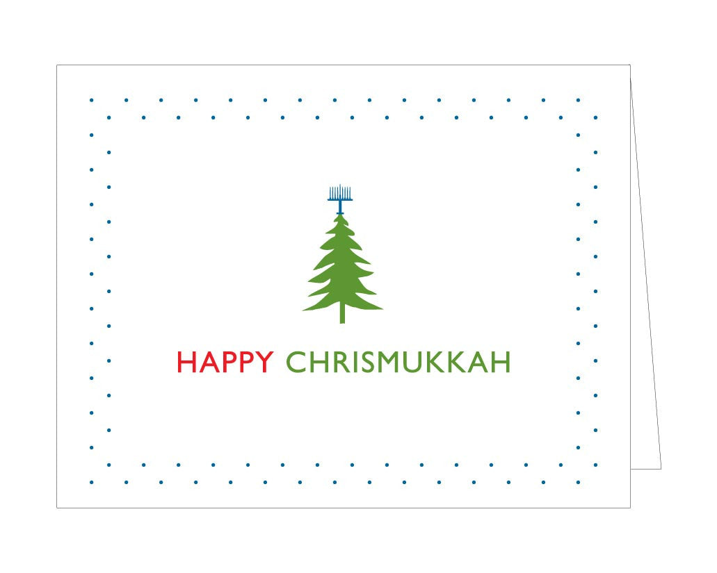 Happy Chrismukkah Holiday Card