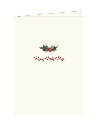 Happy Holly Days Note Cards