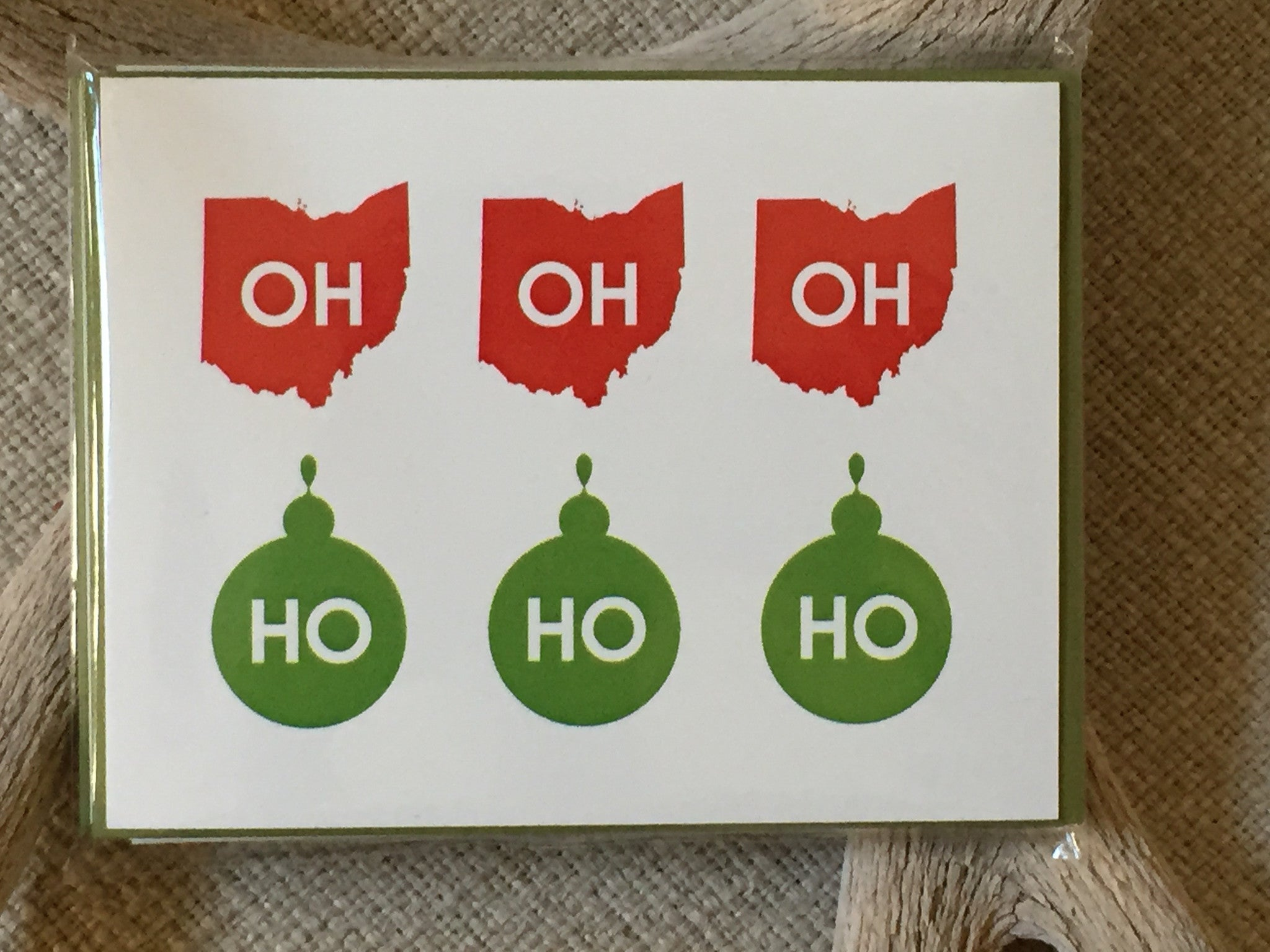 OH HO HO Holiday Card