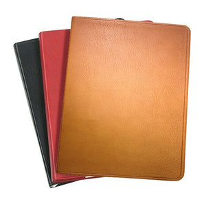"9"" Flexible Cover Journal  Traditional Leather"