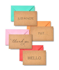 Kraft Paper All Occasions Note Card Assortment