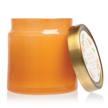 Thymes Mandarin Coriander Glass Jar Candle