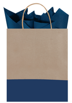 Load image into Gallery viewer, Dipped Recycled Kraft Gift Bag