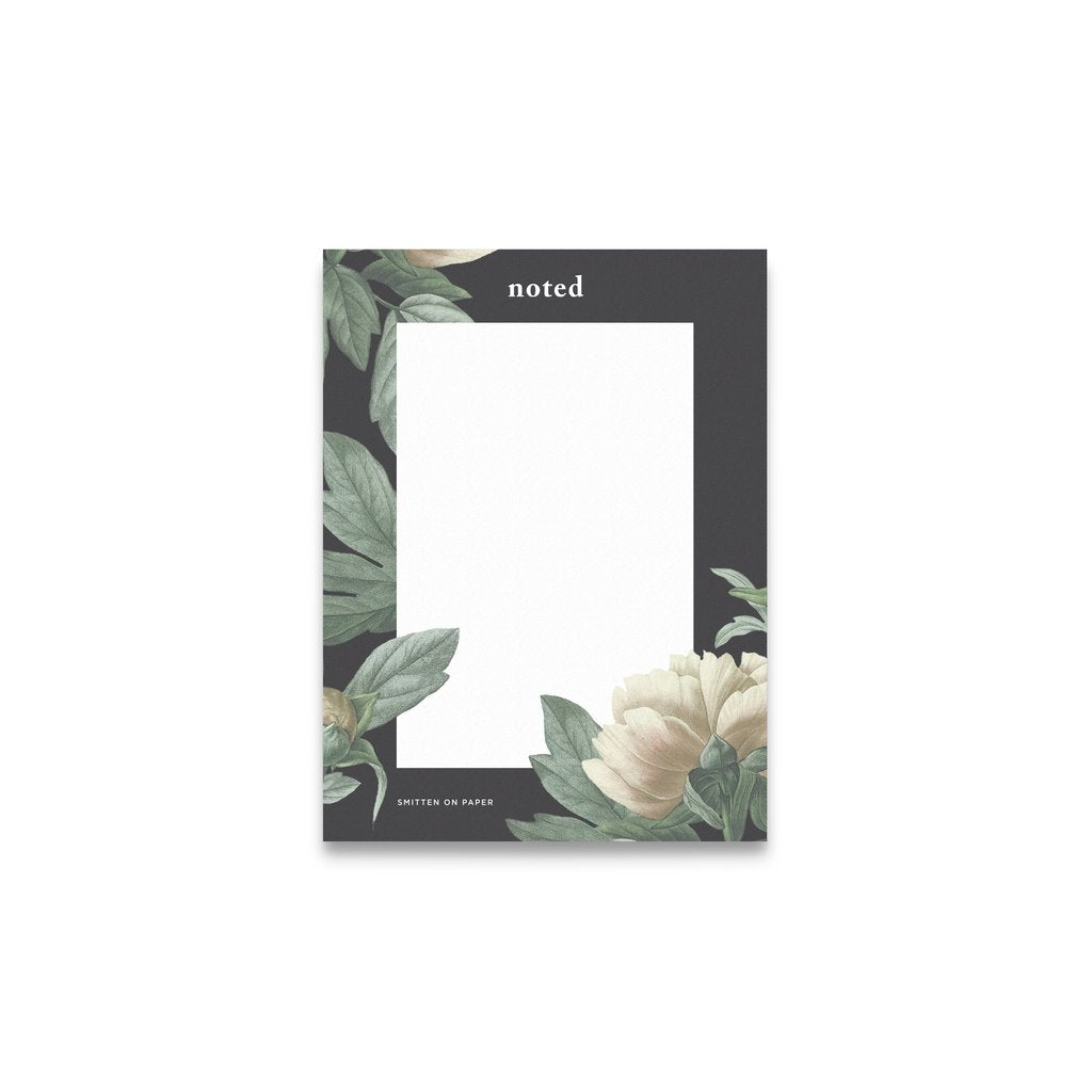Smitten on Paper Classic Floral Notepad