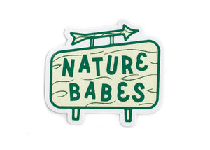 Nature Babes Vinyl Sticker