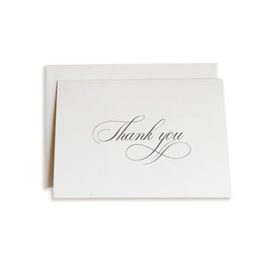Flourish Script Thank You Notes