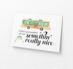 Load image into Gallery viewer, Vacation Themed Holiday Cards (Set of 9)