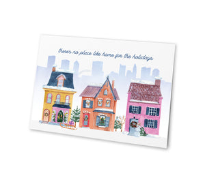 Village Holiday Christmas Card (Set of 8)