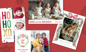 Personalized Holiday Photo Card Collection