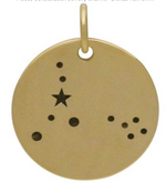 Load image into Gallery viewer, Natural Bronze Constellation Necklace