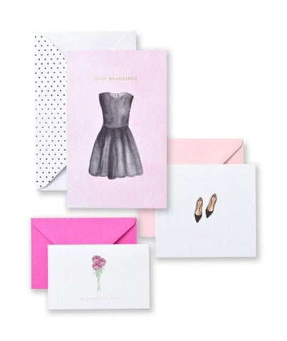 Pretty Things Multi-Size Thank You Card & Note Card Set