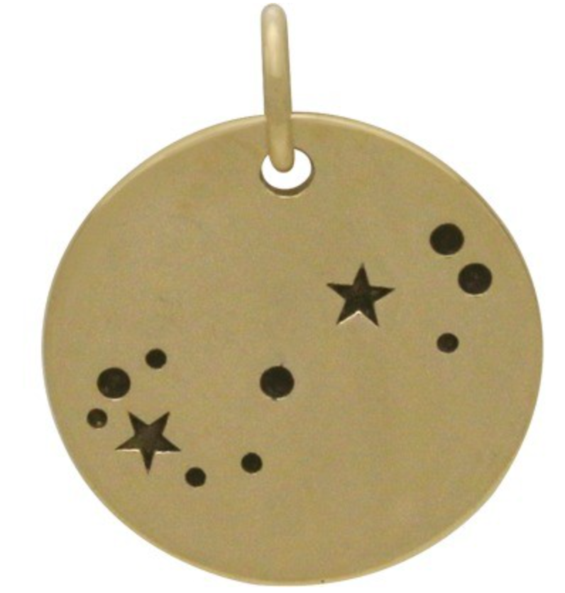 Natural Bronze Constellation Necklace