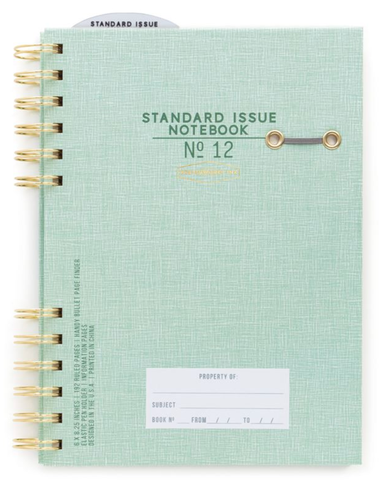 Standard Issue Undated Planner
